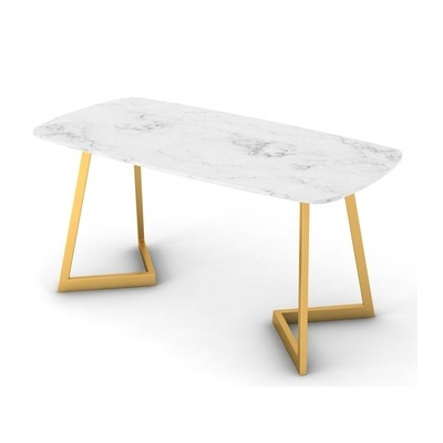 Marble top restaurant dining table