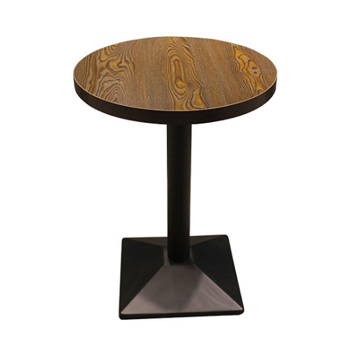 Restaurant Cafe Industrial round dining table