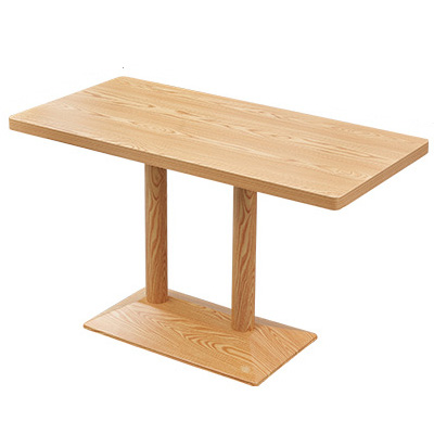 Rectangle cafe dining table