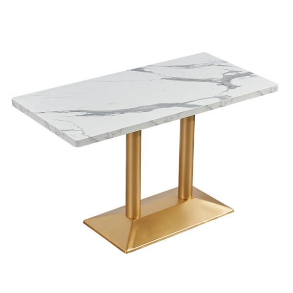 Commercial restaurant dining table