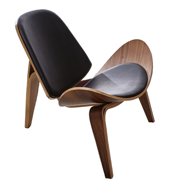 Designer wood sofa chair