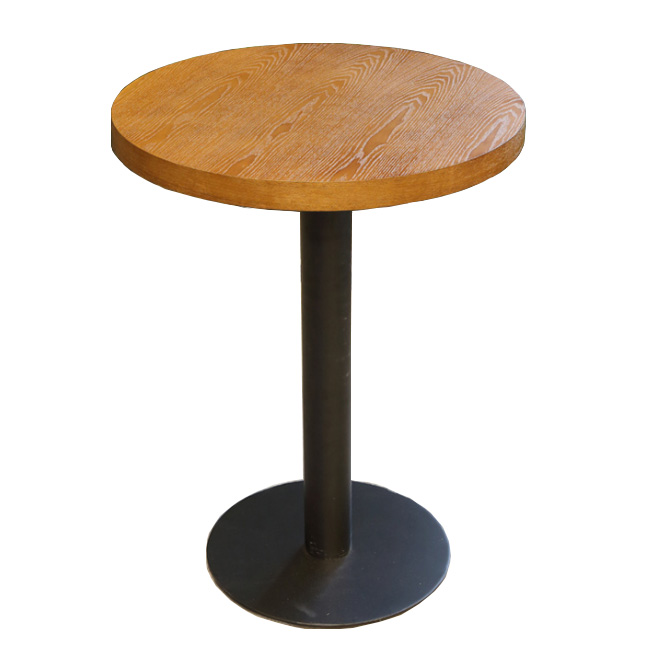 Coffee shop cafe round dining table