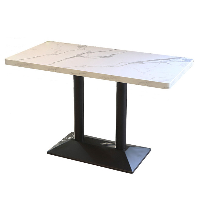 Rectangle restaurant cafe dining table