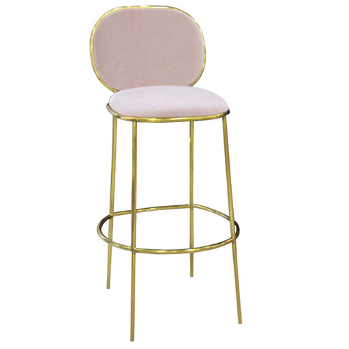 China factory wholesale restaurant cafe metal barstool