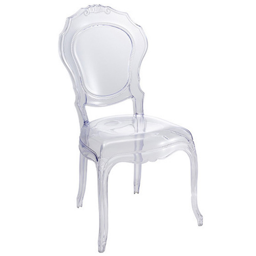 Transparent acrylic events wedding clear crystal PC dining plastic chair