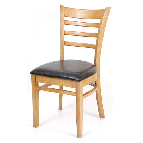 Solid wood dining chair restaurant furniture from China