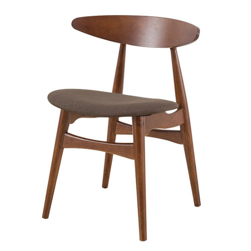 Commercial furniture restaurant cafe coffee shop wooden dining chair