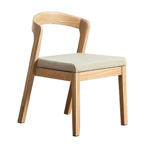 Wood dining chair chic home wooden China furniture chair