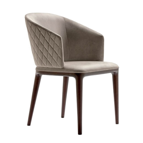 designer solid wood cafe restaurant dining chair